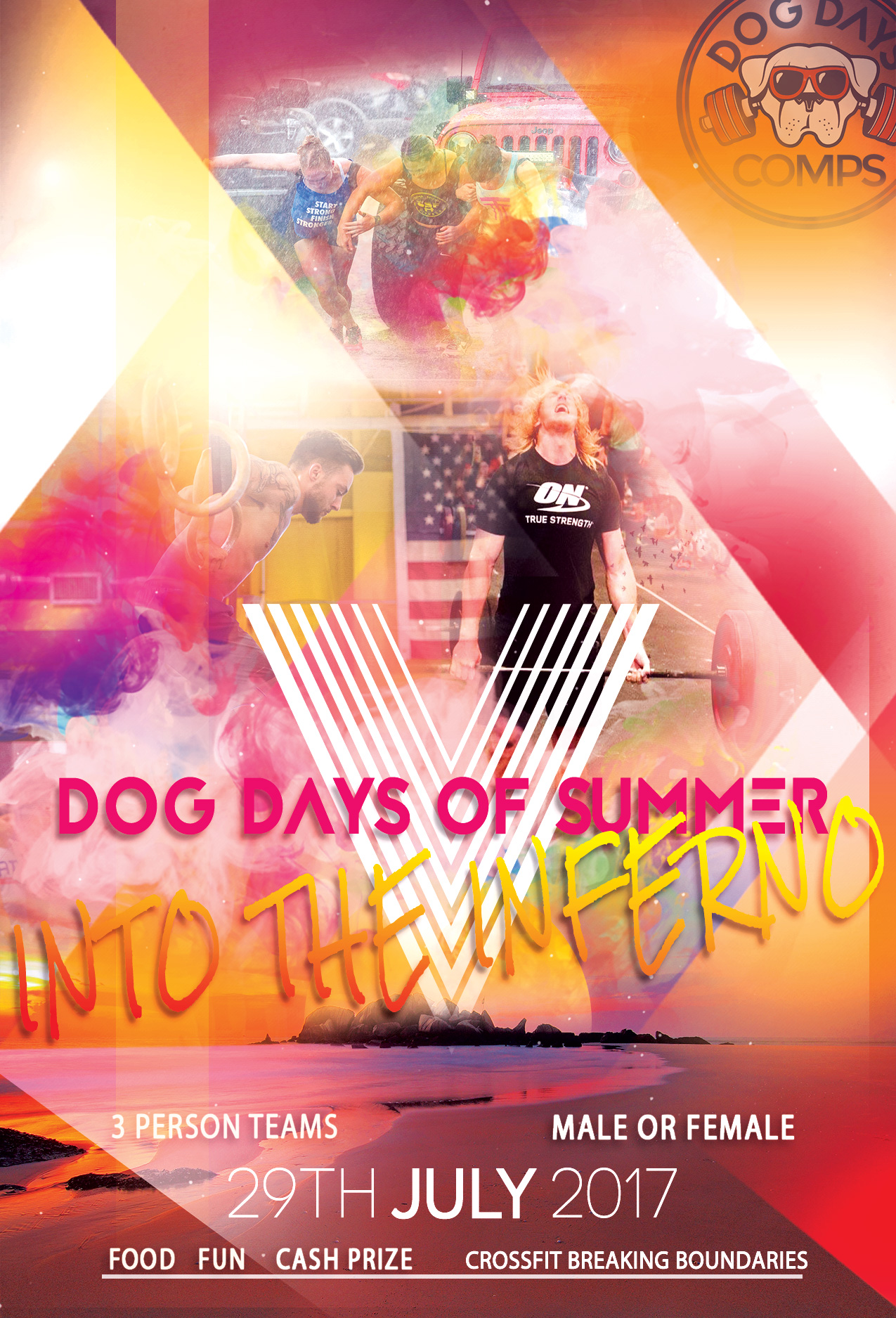dog days of summer fitness competitions roswell